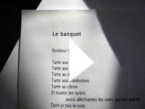 Le banquet_Vidéo